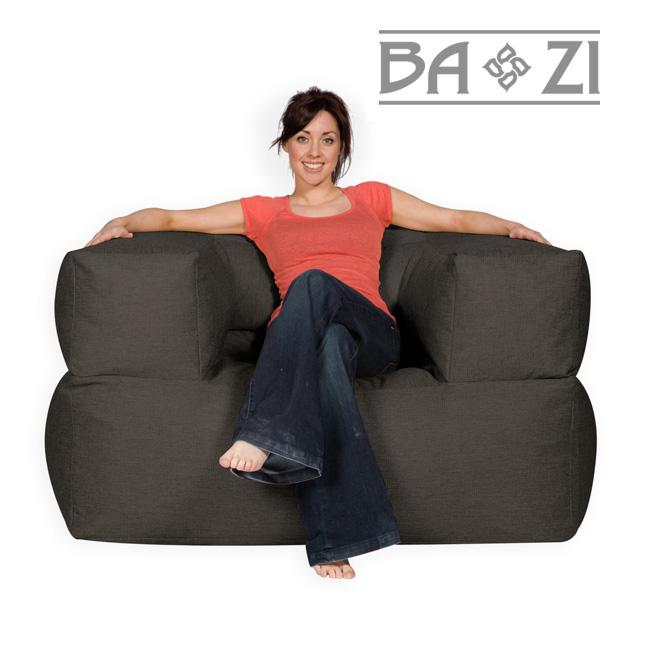 BaZi® Bean Bag Armchair Grey