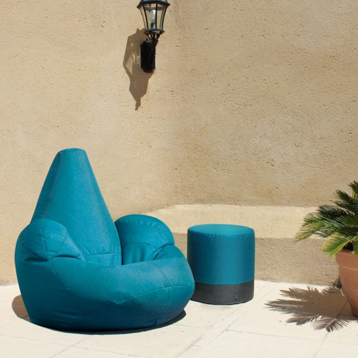 Oria Recliner Bean Bag Teal