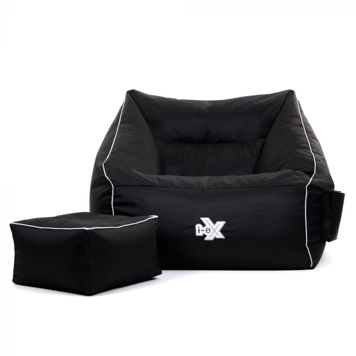 iex armchair and footstool