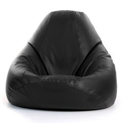 THE MAXIMUS Giant Beanbag Chair, Faux Leather