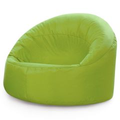 large lime cup chair bean bag
