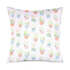 Herb Garden print outdoor garden cushion