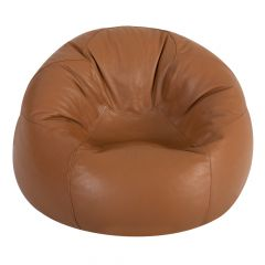 real leather xl bean bag