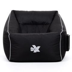 i-eX Gaming Armchair Bean Bag and Footstool 2