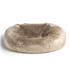 XXXL Bean Bag in Faux Fur Mink