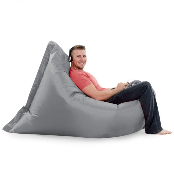 Remarkable Giant Floor Cushion Bean Bag Indoor Outdoor Ibusinesslaw Wood Chair Design Ideas Ibusinesslaworg