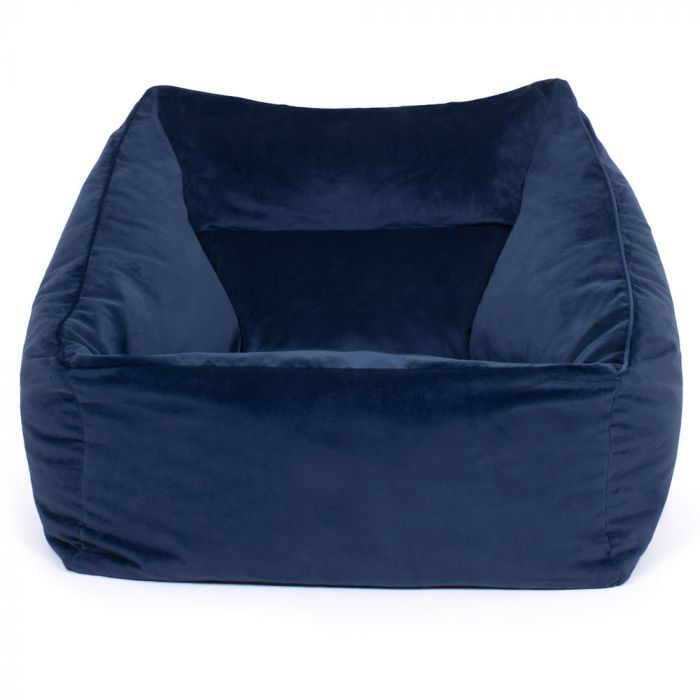 Outstanding Icon Milano Velvet Lounge Chair Bean Bag Unemploymentrelief Wooden Chair Designs For Living Room Unemploymentrelieforg