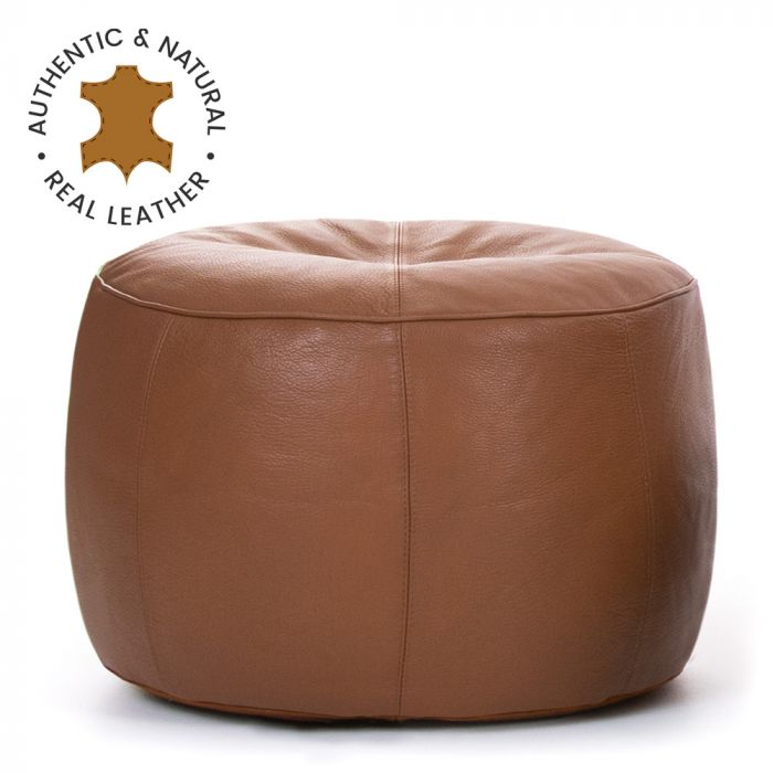 Groovy Icon Valencia Real Leather Footstool Machost Co Dining Chair Design Ideas Machostcouk