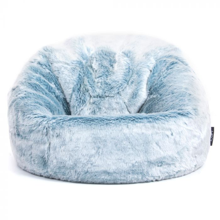 Stupendous Icon Luxury Faux Fur Kids Classic Bean Bag Caraccident5 Cool Chair Designs And Ideas Caraccident5Info