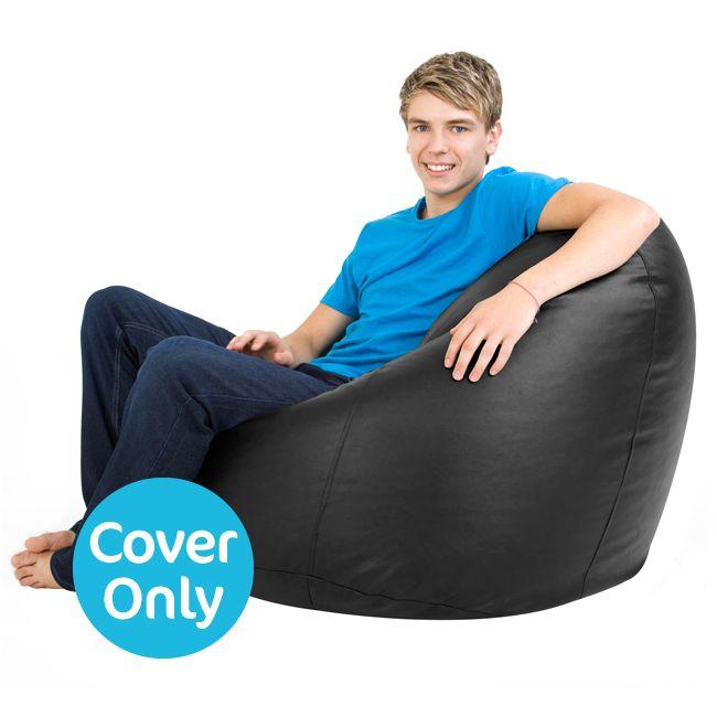 Terrific Cover Xxl Bean Bag Man Size Faux Leather Uwap Interior Chair Design Uwaporg