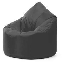 Slate Grey Large Bean Bag Chair