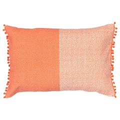 Reversible Outdoor Cushion Rainbow Blocks
