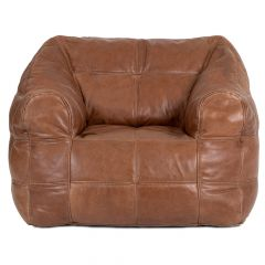 Luxury Real Leather Armchair