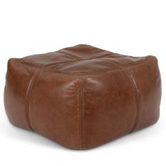 Icon® Radley Real Leather Footstool