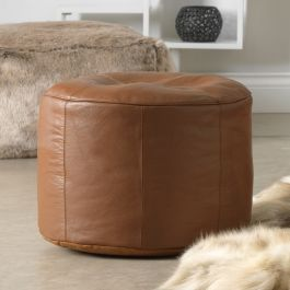 Icon Valencia Real Leather Footstool