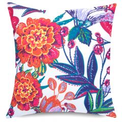 Morris Floral print indoor outdoor garden cushion