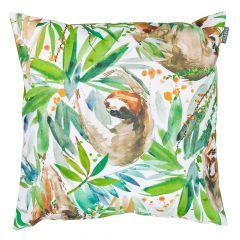 Sloth Tropical Outdoor Cushion