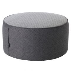 ICON™ Dot Pop Pouffe Footstool, Charcoal