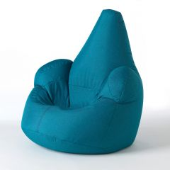 teal outdoor bean bag armchair