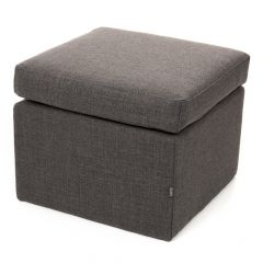 Icon® Luna Upholstered Footstool