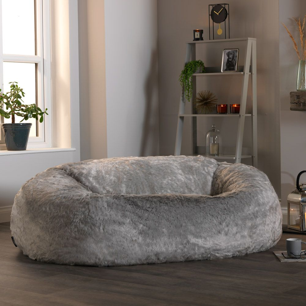 Giant Faux Fur Bean Bag