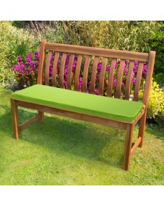 Lime Bench Pad in Garden