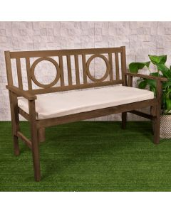 2 Seater Bench Pad, Sand Stone