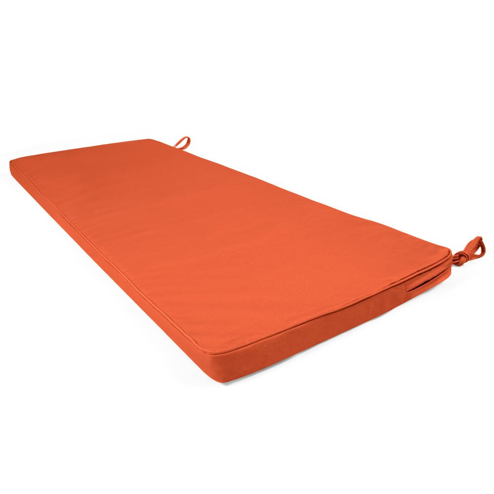 3 Seater Bench Pad, Terracotta