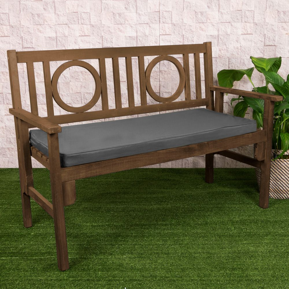 2 Seater Bench Pad, Charcoal