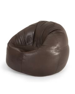 large brown bean bag