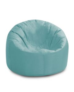 Cool Blue solo shot of the bean bag