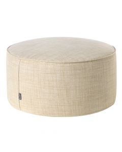 Woven Pouffe Footstool in Natural