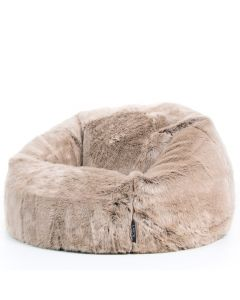 luxury faux fur bean bag
