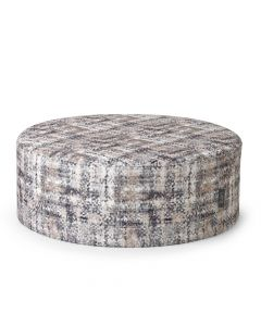 Large Grey Ottoman in super soft fabric