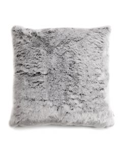Extra large faux fur scatter cushion