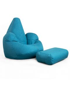 ICON™ Oria Bean Bag Armchair & Footrest