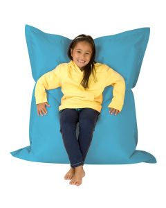 KIDS Giant 4 Way Floor Cushion Big Bag Indoor-Outdoor Aqua