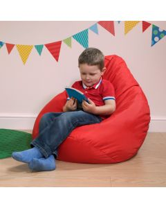 Red Kids Reading Pod