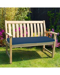 3 Seater Bench Pad, Navy