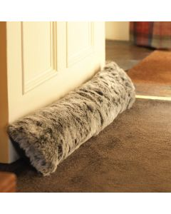 ICON™ Ottawa Faux Fur Draught Excluder, Mink