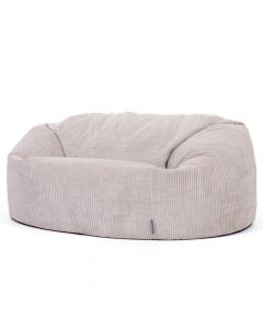 ICON® Soul Giant Two-Seater Bean Bag, Stone Jumbo Cord