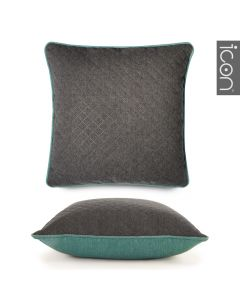 ICON™ Diamond Pop Cushion, Aqua