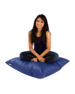 Bean Cushion Blue