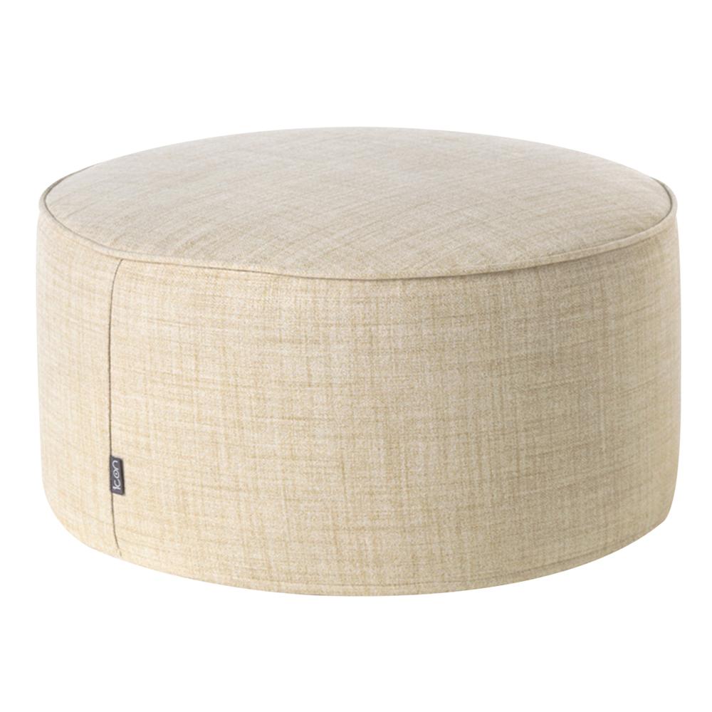 Cream Drum Stool
