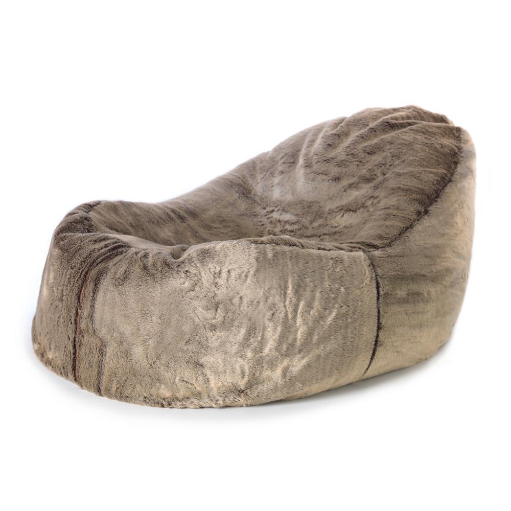 Fur Lounger Bean Bag