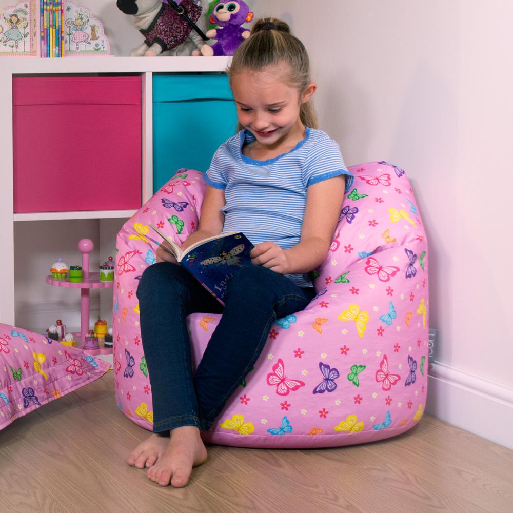 ICON™ Butterflies Kids Classic Bean Bag