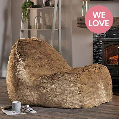 Faux Fur Dream Lounger