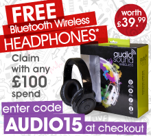 Free Headphones with Bean Bags