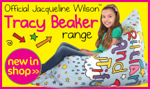 Exclusive Officially Licensed Jacqueline Wilson Bean Bags