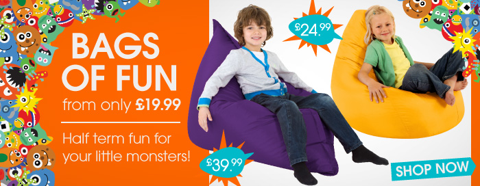 Kids Bean Bags from £19.99